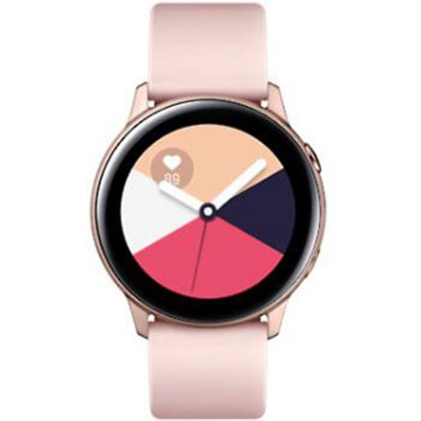Montre Samsung Galaxy Watch Active Rose poudré offre à 99,99€