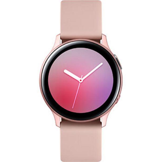 Samsung Galaxy Watch Active2 4G 40 mm Aluminium Rose Velours offre à 199€