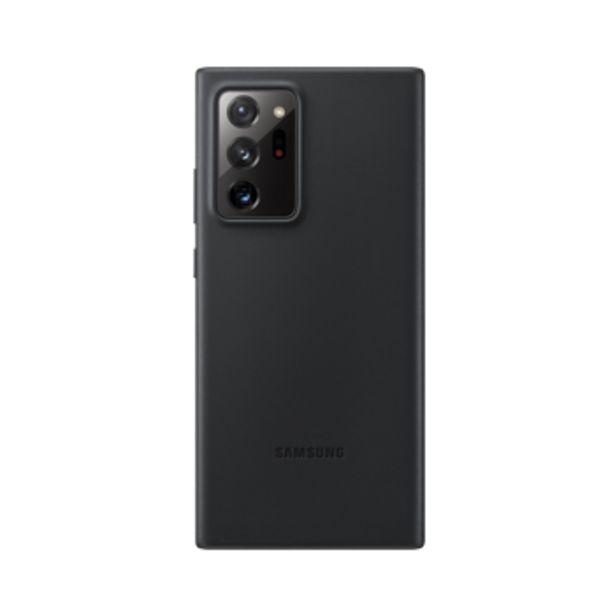 Coque en cuir noir pour Samsung Galaxy Note20 Ultra offre à 39,99€