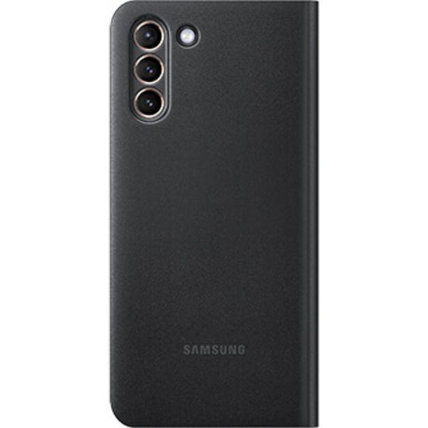 Etui Led View pour Samsung  Galaxy S21+ noir offre à 54,99€
