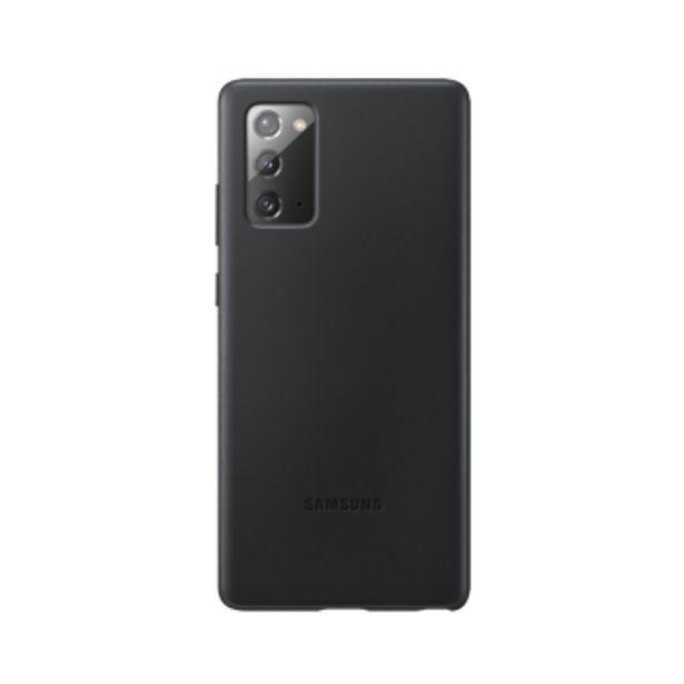 Coque cuir noir pour Samsung Galaxy Note20 offre à 39,99€