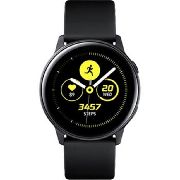 Montre Samsung Galaxy Watch Active Noir pur offre à 99,99€