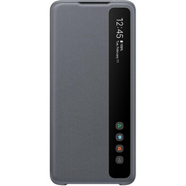 Etui Clear View gris Samsung Galaxy S20 Ultra offre à 19,99€