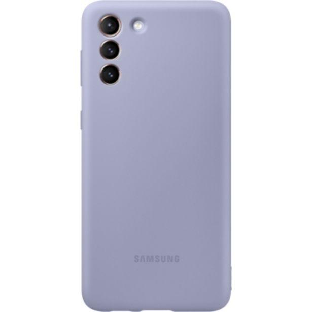 Coque silicone pour Samsung Galaxy S21+ violet offre à 29,99€