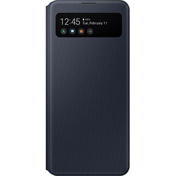 Etui S View pour Samsung Galaxy A41 noir offre à 29,99€