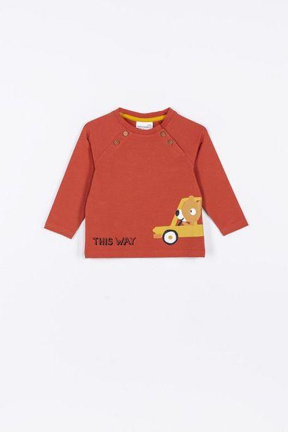 """T-Shirt à manches longues """"This Way"""" offre à 6,9€"""