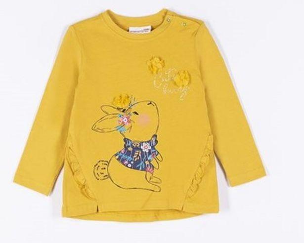 T-shirt jaune BUNNY offre à 6,9€
