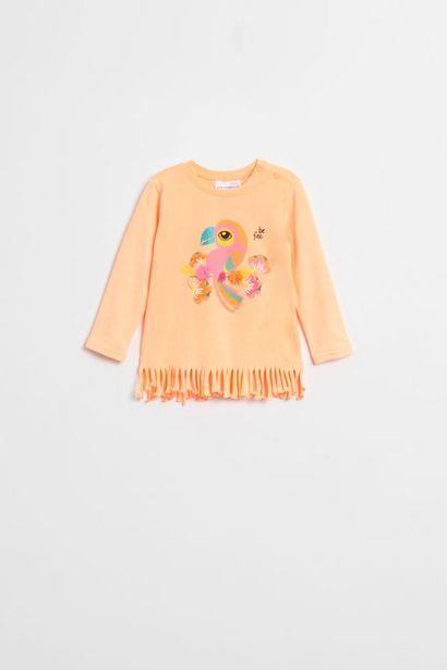 T-shirt orange HELLO offre à 6,5€