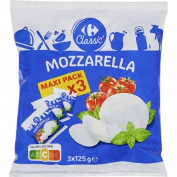 Mozzarella  CARREFOUR CLASSIC' offre à 2,23€