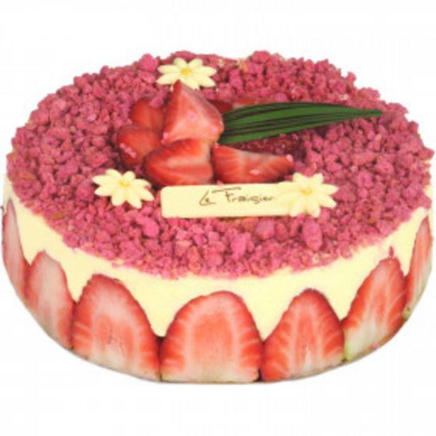 Gâteau Fraisier offre à 11,9€