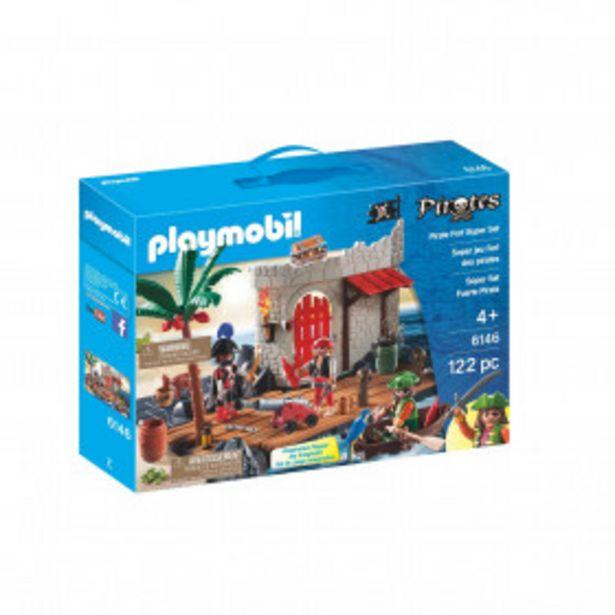 PLAYMOBIL Jouet Superset ilôt des pirates - Playmobil 6146 PLAYMOBIL offre à 16,9€