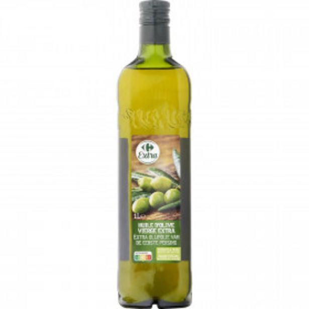 Huile d'olive vierge extra CARREFOUR EXTRA offre à 5,99€