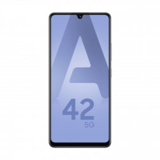 SAMSUNG Smartphone Galaxy A42 - 128 Go - Gris offre à 299€