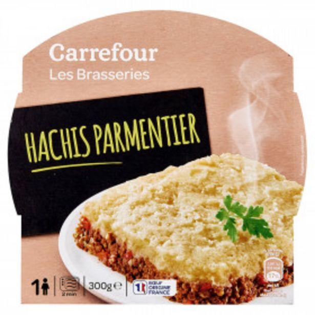 Plat cuisiné hachis parmentier CARREFOUR offre à 1,98€