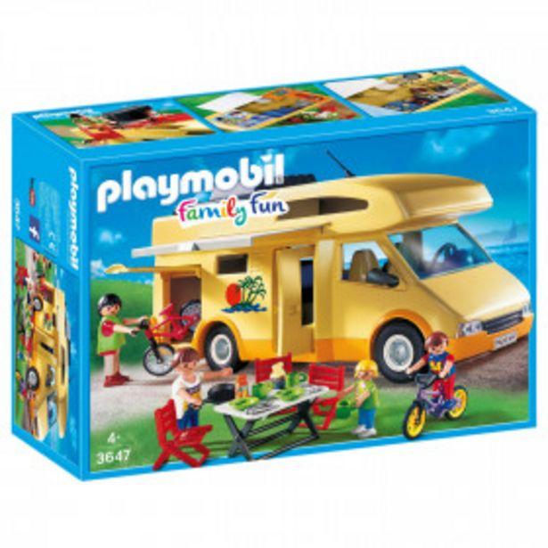 PLAYMOBIL Jouet Camping car familial - 3647 PLAYMOBIL offre à 29,9€