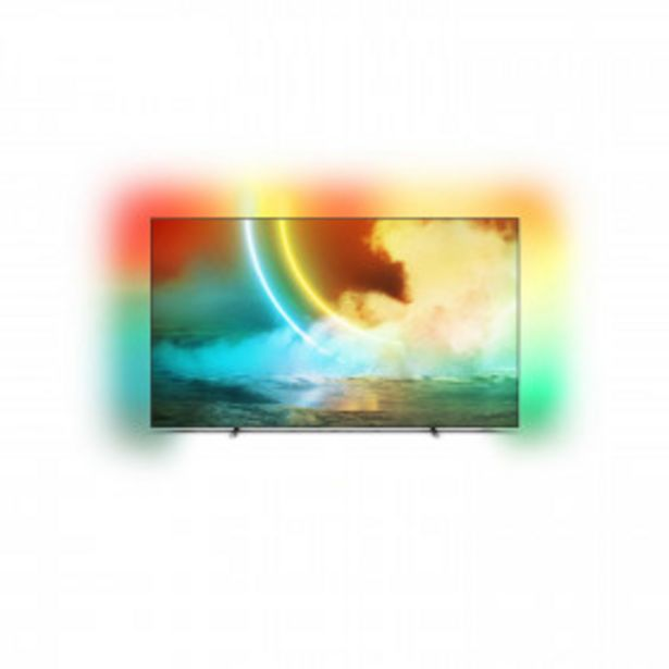 """PHILIPS TV OLED 4K UHD 55"""" 139 cm - 55OLED705/12 - Gris PHILIPS offre à 999€"""