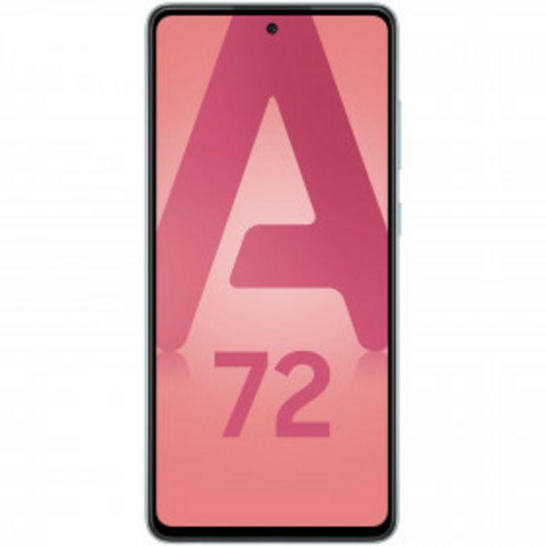 Smartphone Galaxy A72 4G - 128 Go - Bleu SAMSUNG offre à 349€