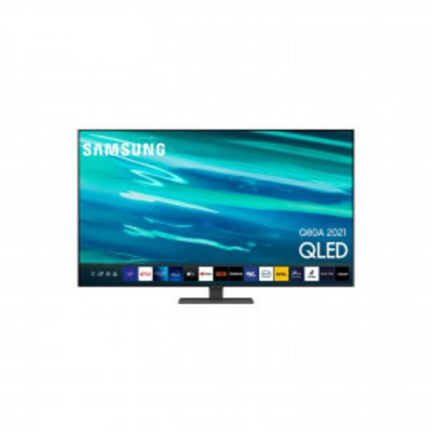 TV 55Q80A2021-QLED4KUHD-SmartTV55'' SAMSUNG offre à 999€