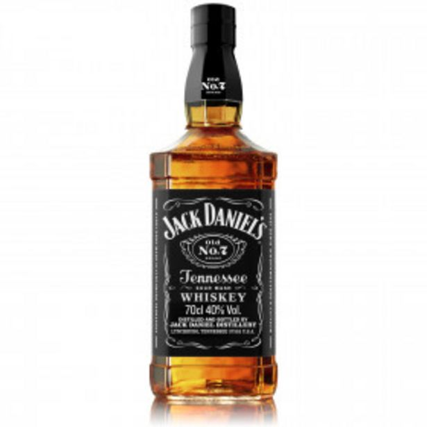 Whisky Tennessee Old n°7 JACK DANIEL'S offre à 17,94€