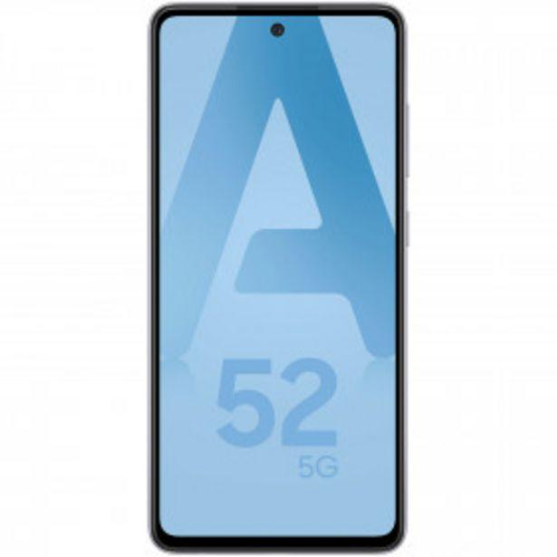SAMSUNG Smartphone Galaxy A52 5G - 128 Go - Lavande SAMSUNG offre à 449€