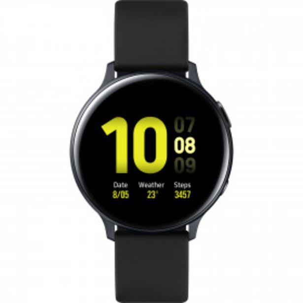 SAMSUNG Montre connectée Galaxy Watch Active2 Noir Alu 44mm SAMSUNG offre à 289,9€