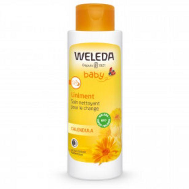 Liniment baby parfum calendula Bio WELEDA offre à 8,24€