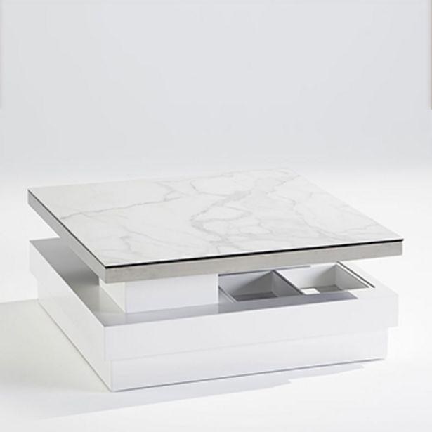 Table basse en céramique marbrée. offre à 990€
