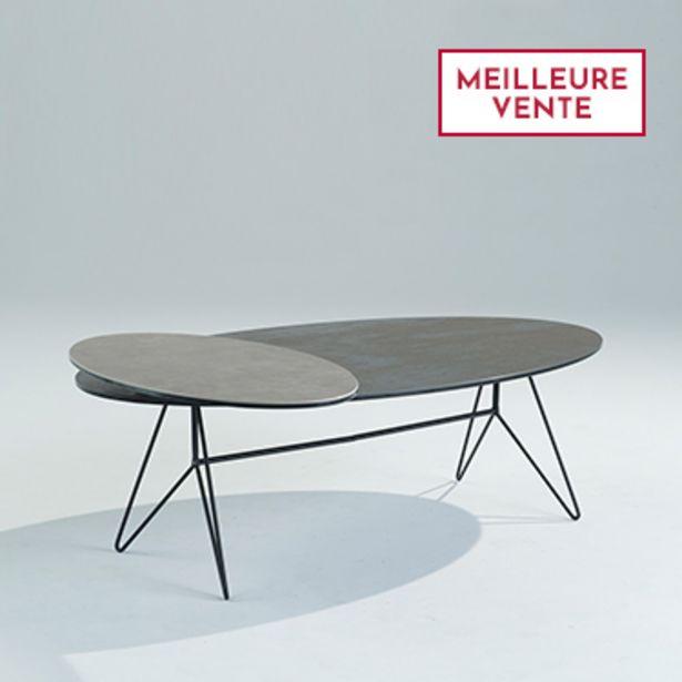 Table basse à plateaux pivotants offre à 1100€