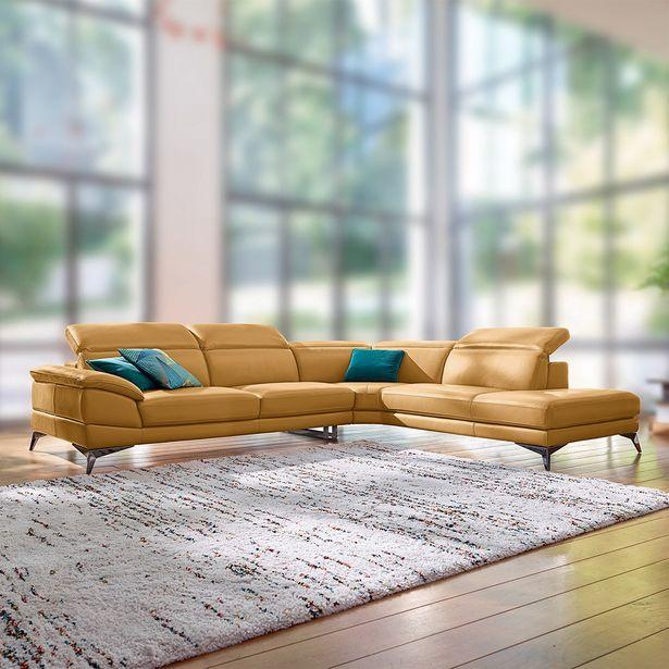 Canapé d'angle 5 places  100% cuir. offre à 4190€