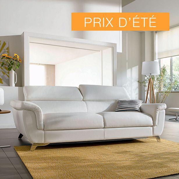 Canapé-lit  couchage 140 cm 100% cuir. offre à 2590€