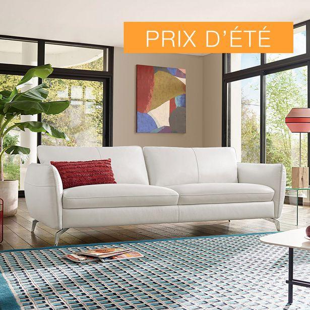 Canapé 3 places 100% cuir. offre à 1790€