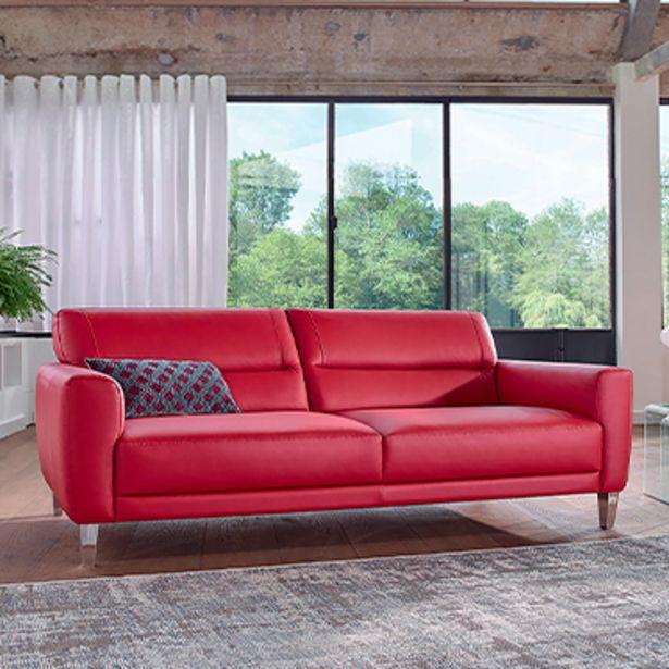 Canapé 3 places 100% cuir. offre à 1668€
