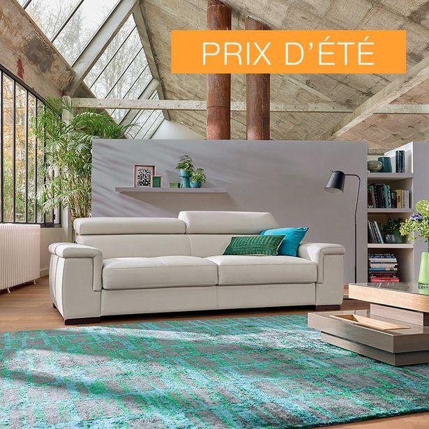 Canapé-lit couchage 140 cm 100% cuir. offre à 2390€