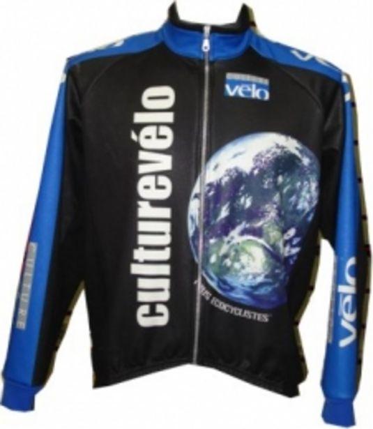 Culture-Vélo Culture vélo VESTE HAUTACAM manches longues NOIR/BLEU taille  S offre à 70,79€