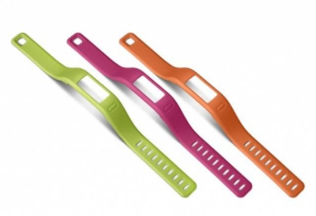 Garmin Pack 3 bracelets vivofit Orange/Rose/Vert Small offre à 16,25€