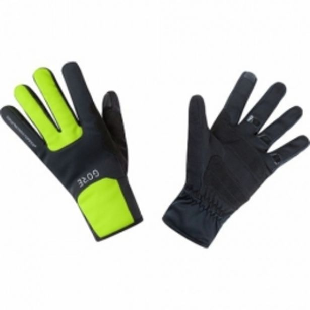 GORE Gants M WINDSTOPPER® Thermo black/neon yellow taille  10 offre à 20,99€