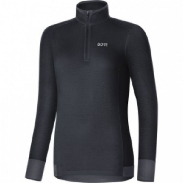GORE® M Femme Thermo Maillot léger deep water blue taille  36 offre à 35,99€