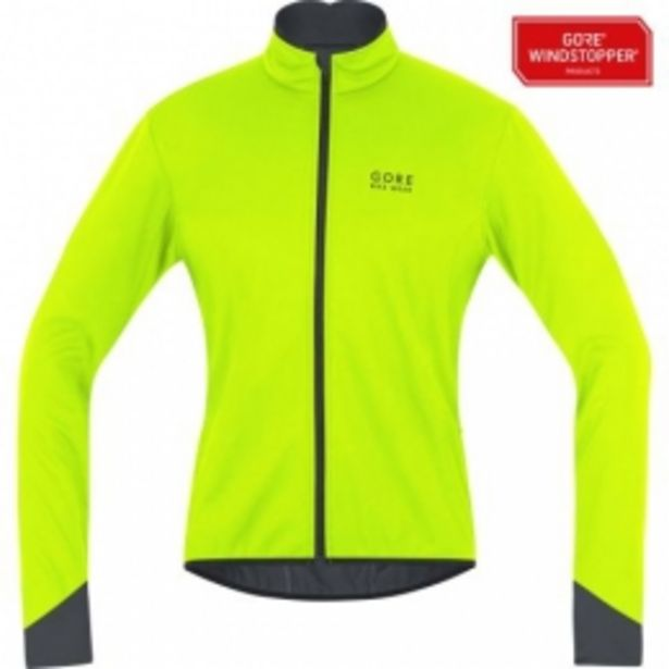 Gore Veste POWER 2.0 WINDSTOPPER® Soft Shell neon yellow/black taille  S offre à 110,47€