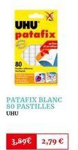 Patafix blanc 80 pastilles offre à 2,79€
