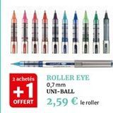 Roller eye offre à 2,59€