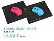 Souris néon - tapis offre à 12,99€