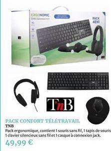 Pack confort télétravail offre à 49,99€