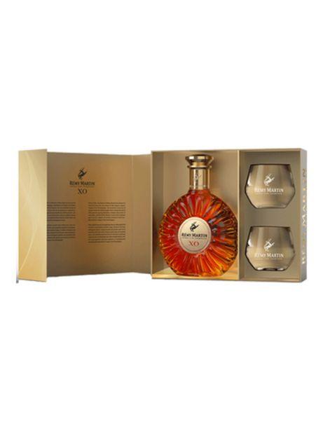 COFFRET REMY XO GLASSPACK+2 VERRES   40° offre à 225€