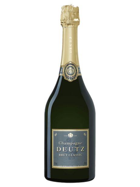 Champagne Deutz Classic Brut offre à 39,95€
