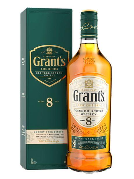Grant's Sherry Cask Finish Edition 8 ans offre à 18,6€