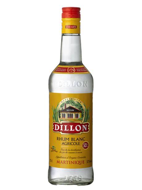 Rhum Agricole Martinique Dillon offre à 19,6€