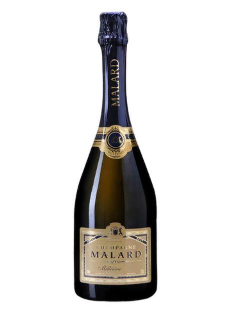 Champagne Malard Brut Millésime 2009 offre à 29,85€