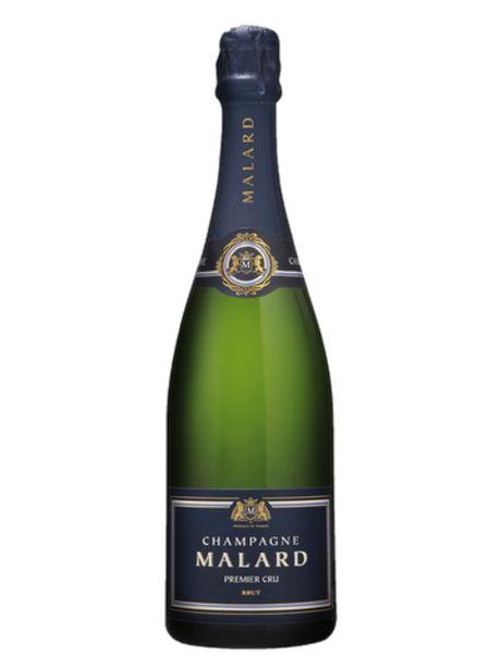 Champagne Malard Brut 1er Cru offre à 23,3€