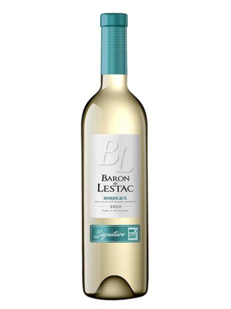 BARON LESTAC BLANC SIGNATURE 2020 offre à 3,95€