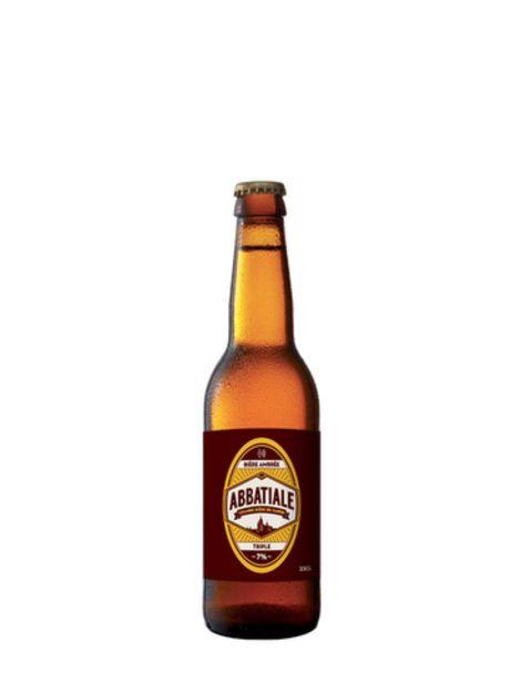 Bière Abbatiale Triple 33 cl offre à 3,15€